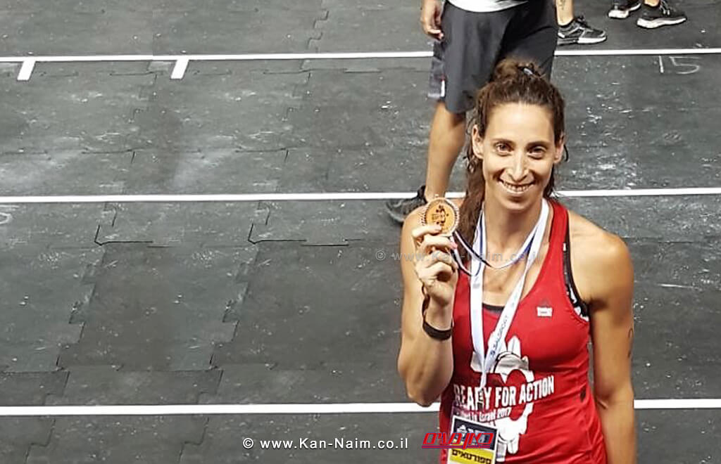מעיין שפרלינג, תושבת נתניה מ'סטודיו סי' במקום ה-3 באליפות ישראל בכושר גופני | עיבוד צילום: שולי סונגו©