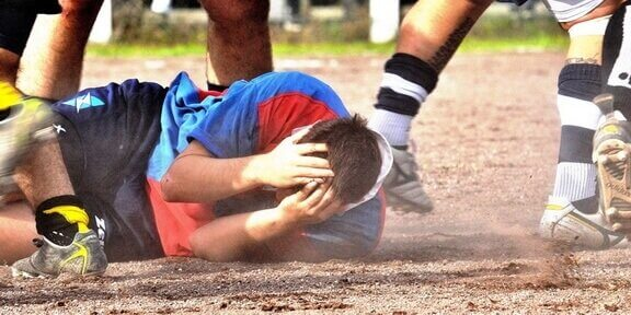 Rugby is a game similar to football